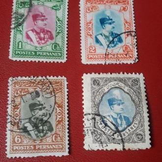Марка Персия Иран  1915