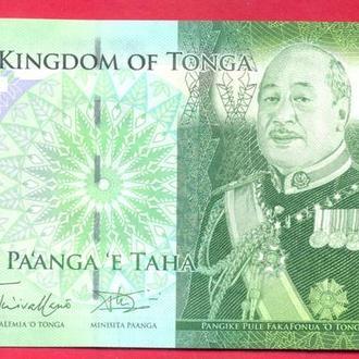 Боны Океания Тонга 1 панга 2009 г.