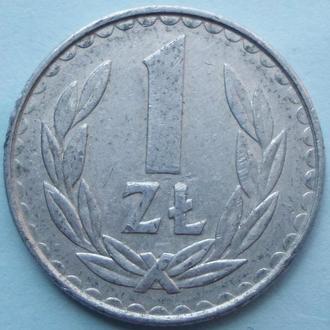 (А) Польша 1 злотый, 1984