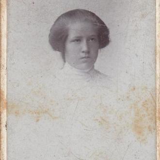 Барышня. Мини-портрет. 1905 г.