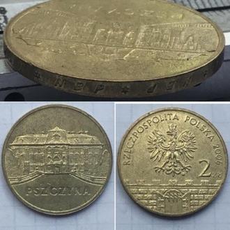 Польша 2 злотых, 2006г.  Древние города Польши - Пщина / Юбилейные монеты