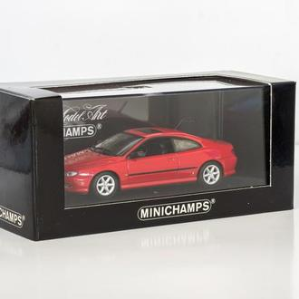 1:43 Peugeot 406 Coupe 1996, Minichamps #430112625, red