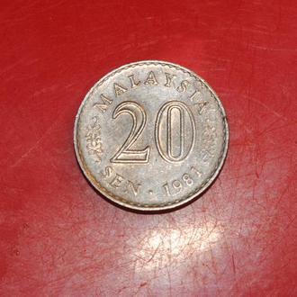 20 сен 1981 г Малайзия