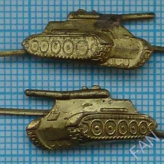 ВС СССР. Петличные эмблемы. Танковые  войска 1960-е
