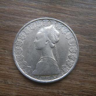 Италия 500 лир 1958 серебро (C4/1)