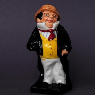 Фарфоровая статуэтка Captain Cuttle Royal Doulton Англия