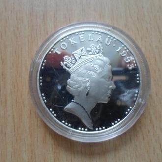 Такелау 5 долларов 1993г