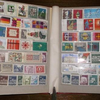 Альбом марок  Німеччина 483  шт  (№9)