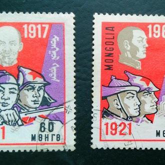 почтовая марка монголия 1967 г