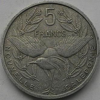Новая Каледония 5 франков 1952 год