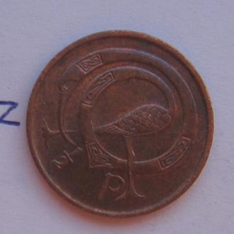 ИРЛАНДИЯ. 1/2 пенни 1971 года.