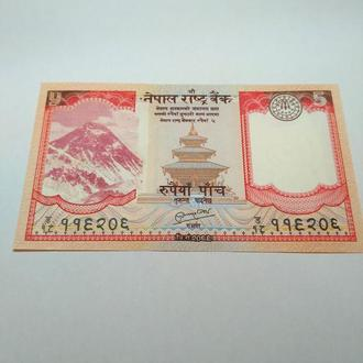 5 рупий, пресс, unc, оригинал