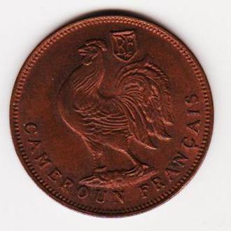 Камерун. 1 фр. 1943г.