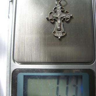 Крест - серебро, 1,73г