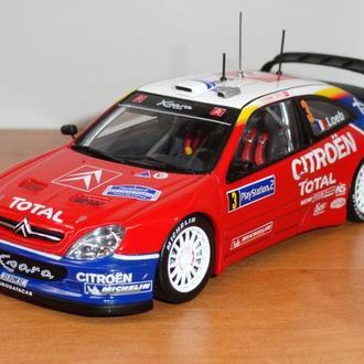 1/43  Citroen X-Sara WRC 2004 #3  AutoArt