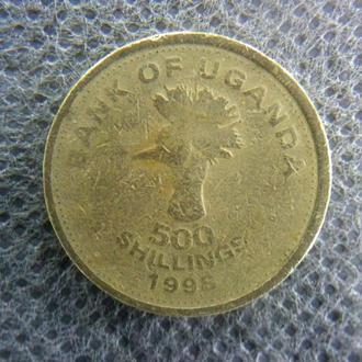 Уганда 500 шиллингов 1998