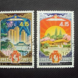 КНДР 1982г.гаш.