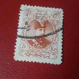 Марка Персия Иран 1902