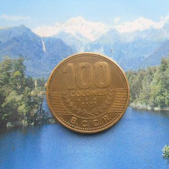 Коста-Рика 100 колонов 2007 года