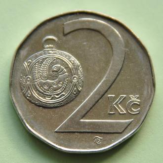 (А) Чехия 2 кроны, 1998