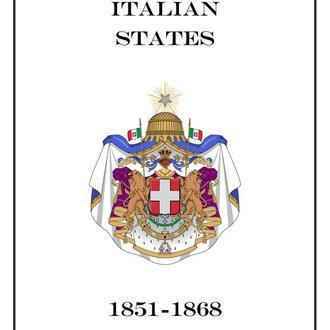 Італія землі 1851-1868
