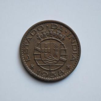 Индия (Португальская) 30 сентаво 1958 г., XF, 'Эскудо (1958 - 1961)'