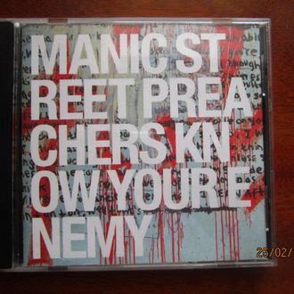 CD Manic Street Preachers  Know Your Enemy Nm Россия