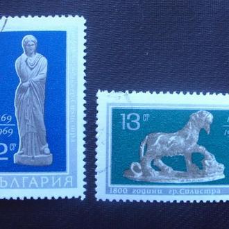 Болгария 1969г.гаш.