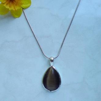 Кулон – Капля. Натуральный камень