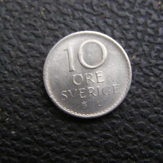 10 эре Швеция 1971
