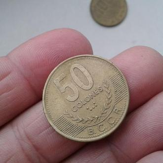 монета Коста Рики