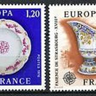 Франция 1976 Европа СЕПТ искусство, керамика
