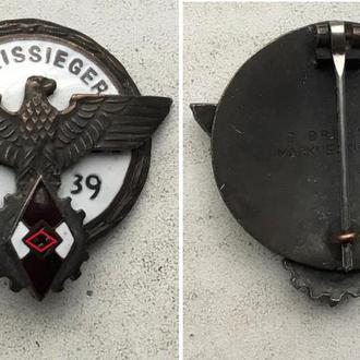 Знак Победитель в районном профсоревновании 1939г. Kreissieger