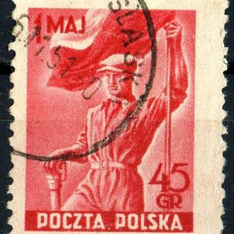 Польша. 1 мая (серия) 1951 г.