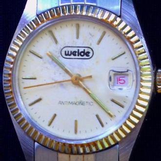 """часы"""" WELDE""""  90годов."""