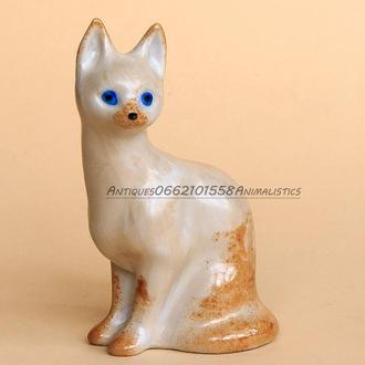 Фарфоровая статуэтка Кошка Фарфор Киев