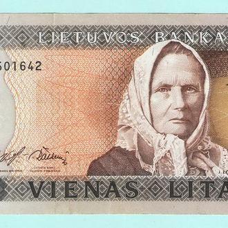 Литва 1 литас 1994 сохран!