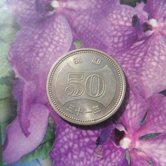 Япония 50йен 1955/8гг