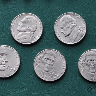5 центов 2002 г США