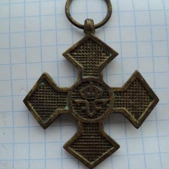 "Крест ""В память войны 1916-1918 гг."" Румыния."