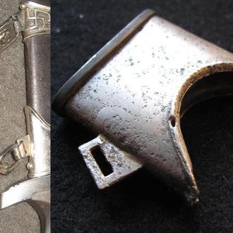 III REICH верхнее кольцо устье ножн кинжала СС SS цепняк.