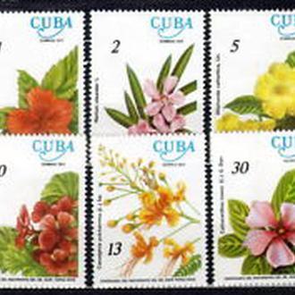 Куба 1977 цветы