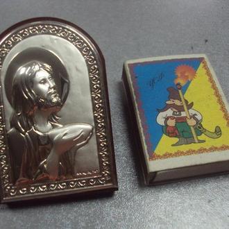 икона иконка серебро италия иисус христос №2