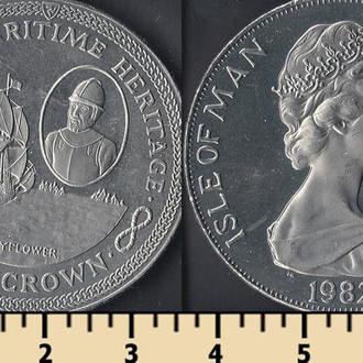 Мэн остров 1 крона 1982