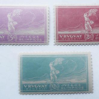 Уругвай 1924 г Олимпиада **