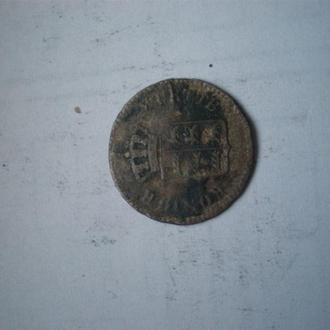 1 крейцер 1844 серебро