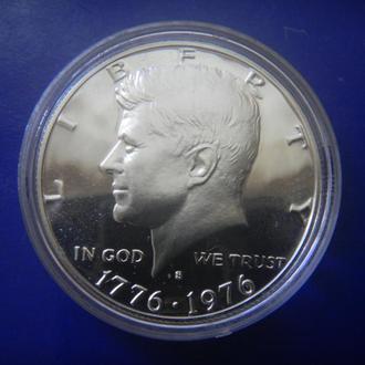 США 1/2 доллара 1976 S ПРУФ Серебро
