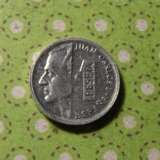 Испания 1998 год монета 1 песета !