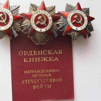 Орден Отечественная война 1 ст. с док.