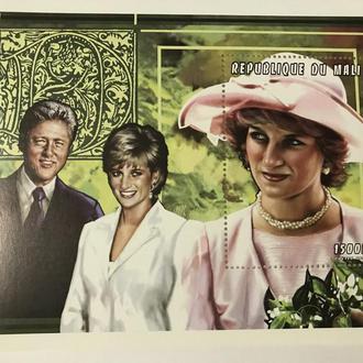 Принцесса Диана/ Мали/ 1997/ Англия/ люди/ персоны